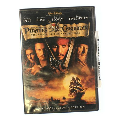 Movie: Pirates Of The Caribbean: The Curse Of The Black Pearl at up to 95% Off - Swap.com