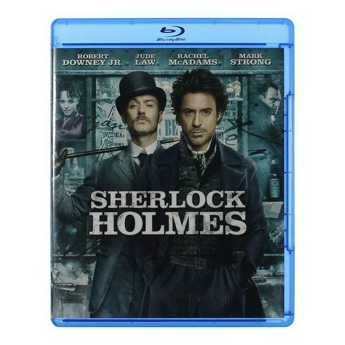 Movie: Sherlock Holmes [Blu-ray] at up to 95% Off - Swap.com