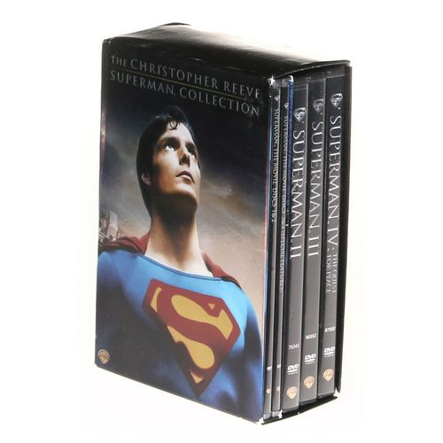 Movie: The Christopher Reeve Superman Collection (Widescreen) at up to 95% Off - Swap.com