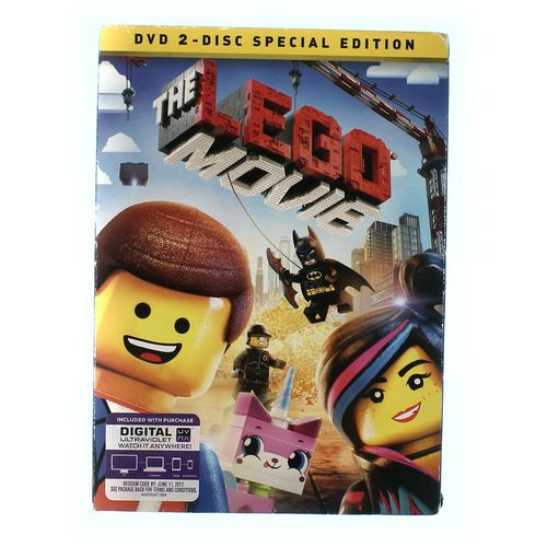 Movie: The LEGO Movie (DVD) Special Edition: Dan Lin, Roy Lee, Phil Lord, Christopher Miller, Chris Pratt, Will Arnett, Elizabeth Banks, Will Ferrell, Morgan Freeman, Nick Offerman, Alison Brie, Liam Neeson, Charlie Day: Movies & TV at up to 95% Off - Swap.com