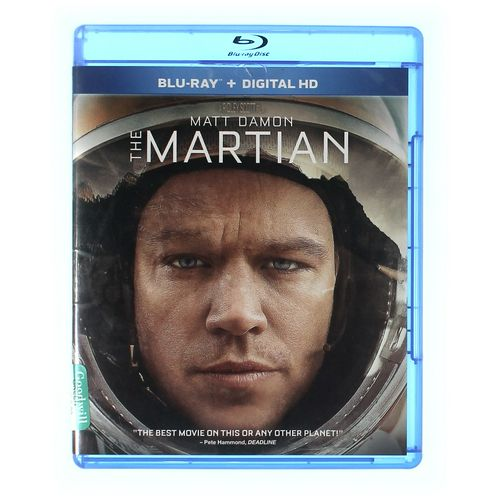 Movie: The Martian (Blu-ray) at up to 95% Off - Swap.com