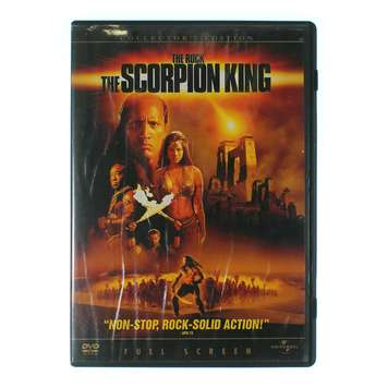 Movie: The Scorpion King for Sale on Swap.com