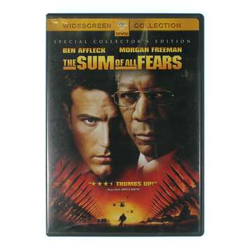 Movie: The Sum of All Fears for Sale on Swap.com