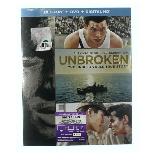 Movie: Unbroken (Blu-ray/DVD) at up to 95% Off - Swap.com