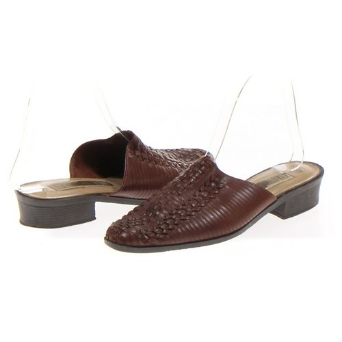 The Leather Collection Mules in size 7.5 Women's at up to 95% Off - Swap.com