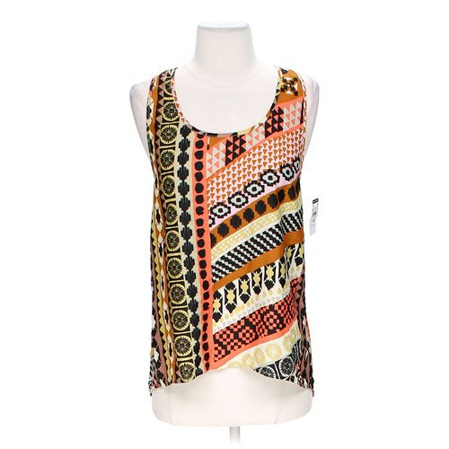 Body Central Multi-Pattern Tank in size XS at up to 95% Off - Swap.com