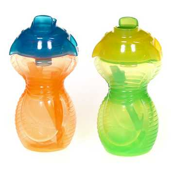 Munchkin Click Lock Flip Straw Cup - 2 Pack 9oz for Sale on Swap.com