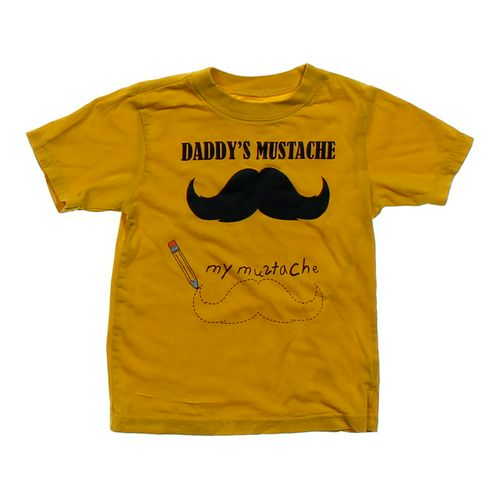 Mustache Cotton T-shirt in size 4/4T at up to 95% Off - Swap.com
