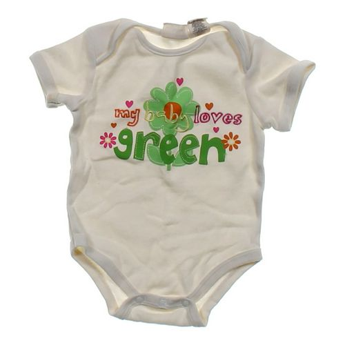 "Koala Kids ""My Baby Loves Green"" Bodysuit in size 6 mo at up to 95% Off - Swap.com"