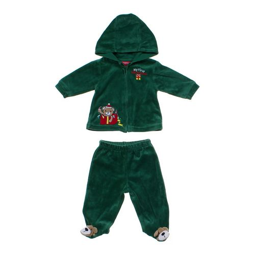 Carter's My First Christmas Velour Outfit in size 6 mo at up to 95% Off - Swap.com