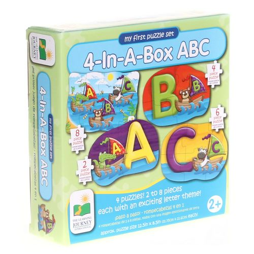 The Learning Journey My First Puzzle Set, 4-in-a-Box, ABC Puzzle at up to 95% Off - Swap.com