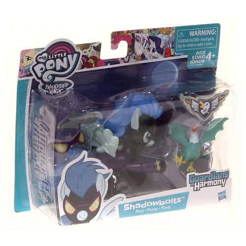 Hasbro My Little Pony Guardians of Harmony Shadowbolts Pony and Cockatrice Figures at up to 95% Off - Swap.com