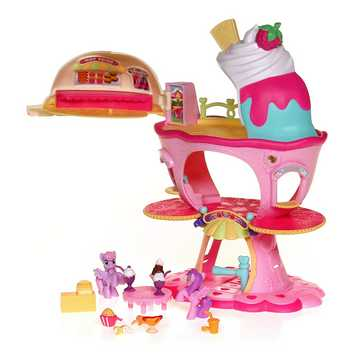 My Little Pony Sweet Sundae Ice Cream Shop Carnival Playset for Sale on Swap.com