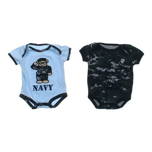 Tiny Troopers Navy Bodysuit Set in size NB at up to 95% Off - Swap.com