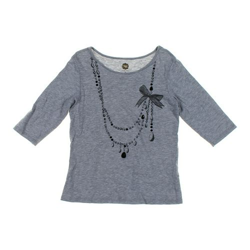 Total Girl Necklace Print Shirt in size 8 at up to 95% Off - Swap.com