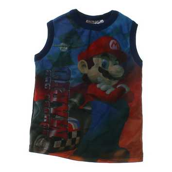 """Number One Mario"" Tank Top for Sale on Swap.com"