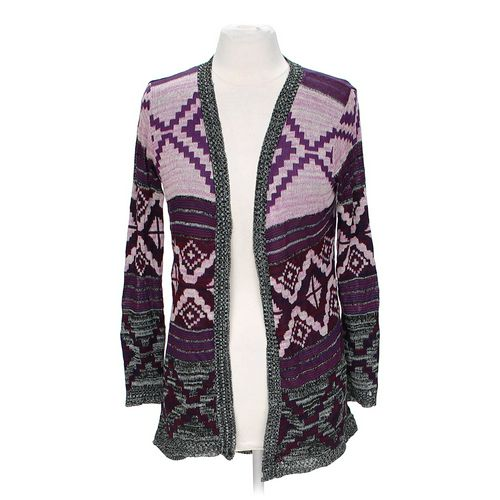 Say What? Open Front Cardigan in size JR 11 at up to 95% Off - Swap.com