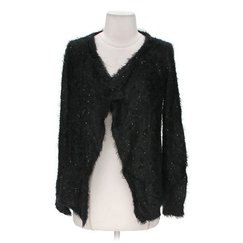 Say What? Open Front Sequined Cardigan in size JR 3 at up to 95% Off - Swap.com