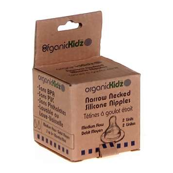 organicKidz Narrow Necked Nipples, Fast Flow [Fast Flow] for Sale on Swap.com