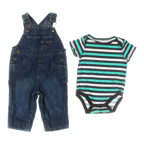 Arizona Overalls & Bodysuit Set in size 3 mo at up to 95% Off - Swap.com