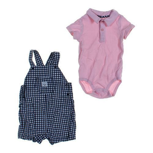 Just One You Overalls & Bodysuit Set in size 18 mo at up to 95% Off - Swap.com