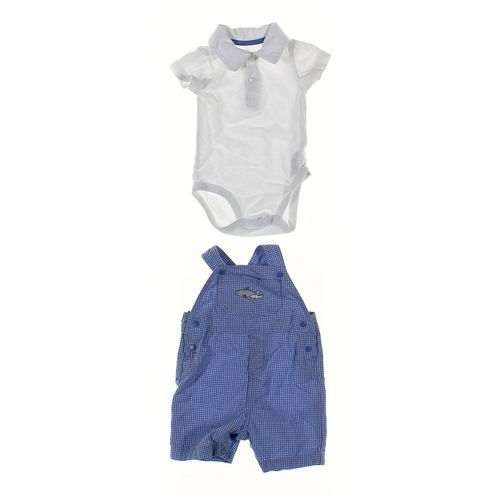 Just One You Overalls & Bodysuit Set in size 3 mo at up to 95% Off - Swap.com