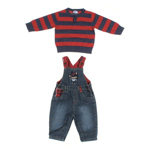 St. Bernard Overalls & Cardigan Set in size 6 mo at up to 95% Off - Swap.com