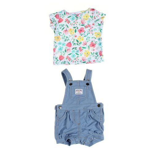 Carter's Overalls & Shirt Set in size 6 mo at up to 95% Off - Swap.com