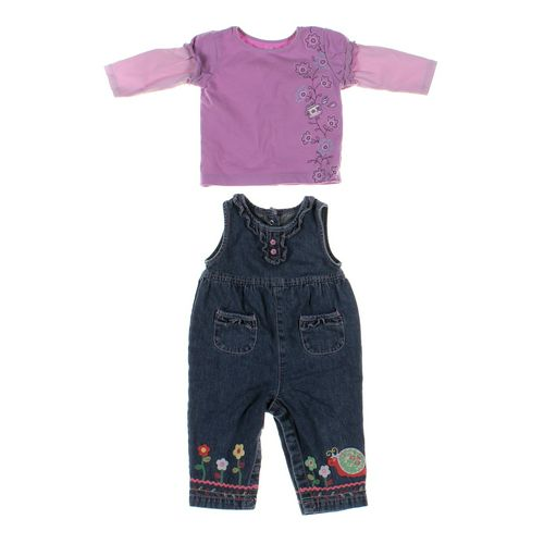 Talbots Kids Overalls & Shirt Set in size 12 mo at up to 95% Off - Swap.com