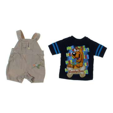Overalls & T-shirt Set for Sale on Swap.com
