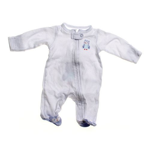 Carter's Owl Footed Pajamas in size NB at up to 95% Off - Swap.com