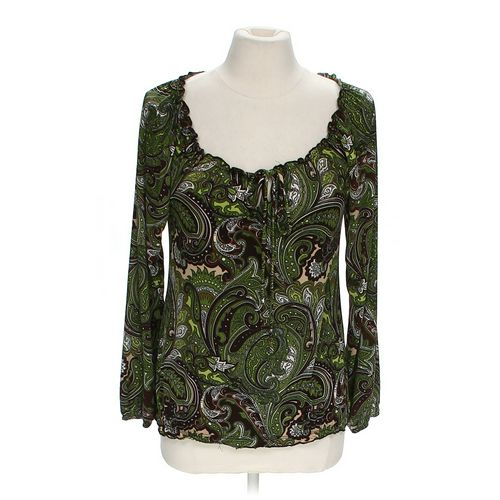 Agenda Paisley Blouse in size M at up to 95% Off - Swap.com