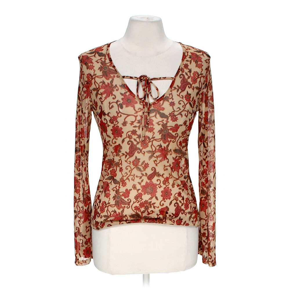 eef6126a5a291 Eye Candy Paisley Blouse in size M at up to 95% Off - Swap.
