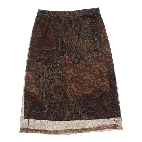Step by Step Paisley Pencil Skirt in size L at up to 95% Off - Swap.com