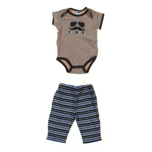 Baby Essentials Pants & Bodysuit Set in size 3 mo at up to 95% Off - Swap.com