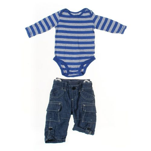 babyGap Pants & Bodysuit Set in size 3 mo at up to 95% Off - Swap.com