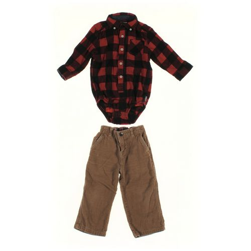 Carter's Pants & Bodysuit Set in size 24 mo at up to 95% Off - Swap.com