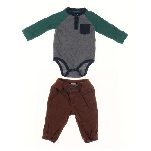 Cat & Jack Pants & Bodysuit Set in size 3 mo at up to 95% Off - Swap.com