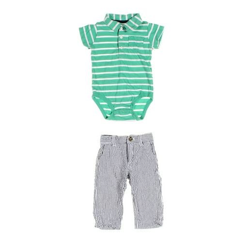 Crazy 8 Pants & Bodysuit Set in size 6 mo at up to 95% Off - Swap.com