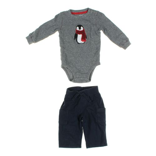 Jumping Beans Pants & Bodysuit Set in size 9 mo at up to 95% Off - Swap.com