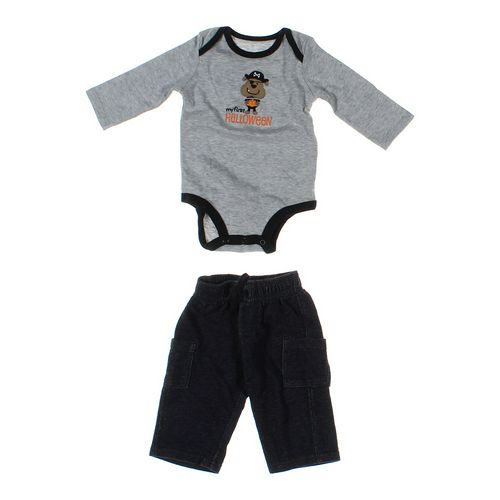 Jumping Beans Pants & Bodysuit Set in size 6 mo at up to 95% Off - Swap.com