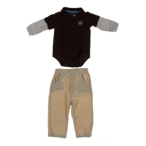 OshKosh B'gosh Pants & Bodysuit Set in size 12 mo at up to 95% Off - Swap.com