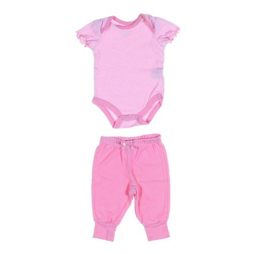 Faded Glory Pants & Bodysuit Set in size NB at up to 95% Off - Swap.com