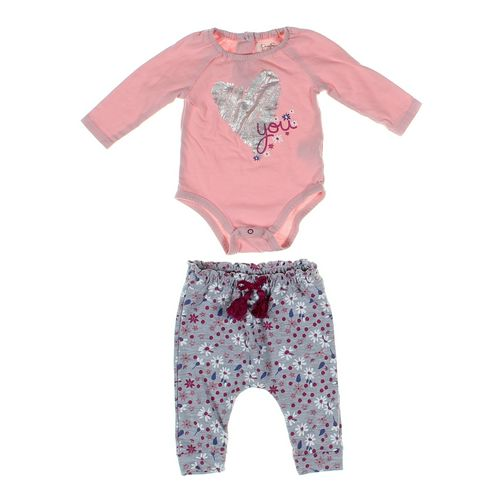 Jessica Simpson Pants & Bodysuit Set in size 3 mo at up to 95% Off - Swap.com