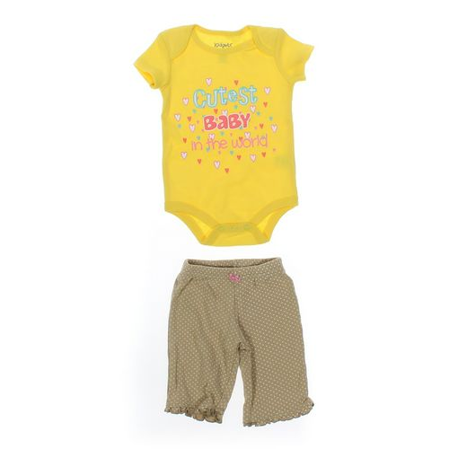 Just One You Pants & Bodysuit Set in size 3 mo at up to 95% Off - Swap.com