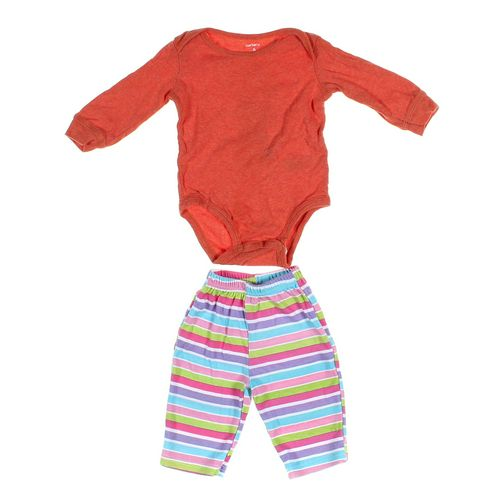 Luvable Friends Pants & Bodysuit Set in size NB at up to 95% Off - Swap.com