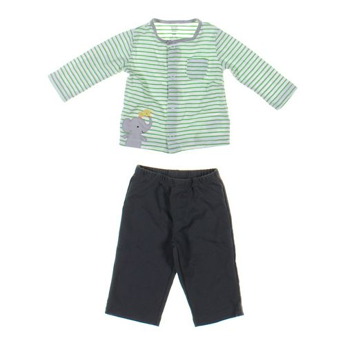 Carter's Pants & Cardigan Set in size 6 mo at up to 95% Off - Swap.com