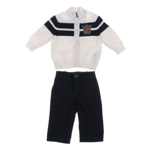 Chaps Pants & Cardigan Set in size 12 mo at up to 95% Off - Swap.com
