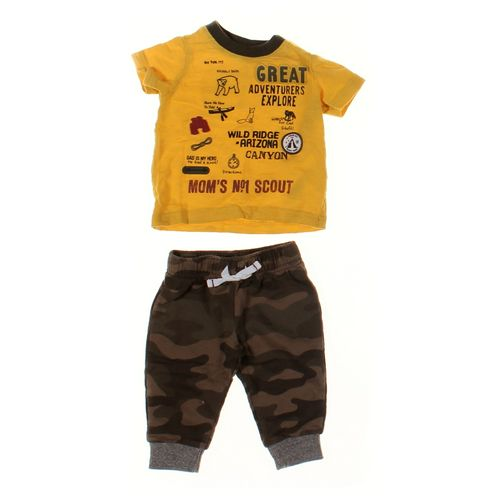 Carter's Pants & Shirt Set in size 3 mo at up to 95% Off - Swap.com
