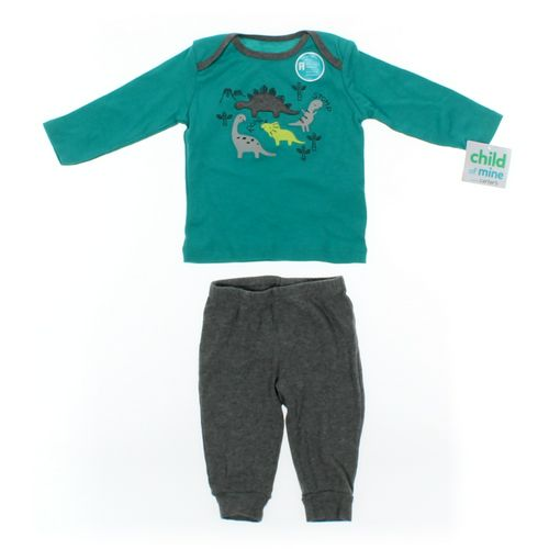 Child of Mine Pants & Shirt Set in size 3 mo at up to 95% Off - Swap.com